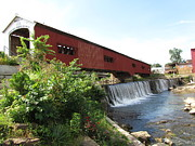 Bridgeton Covered Bridge Art - Bridgeton Bridge by Kathryn Smith