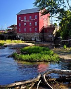 Bridgeton Mill Prints - Bridgeton Mill 2 Print by Marty Koch