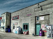 Mj Photo Prints - Bridgewater Depot Print by Mj Olsen