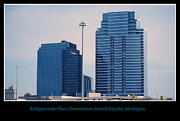 Skyscapers Prints - Bridgewater Place Downtown Grand Rapids Michigan Print by Rosemarie E Seppala