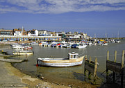 Seaside Framed Prints - Bridlington Harbour Scene Framed Print by Rod Johnson