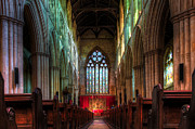 Castle Room Framed Prints - Bridlington Priory Hall Framed Print by Svetlana Sewell