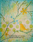 Vellum Prints - Bright and Beautiful Print by Carla Parris