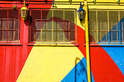 Latino Culture Posters - Bright Colors in La Boca Poster by Jess Kraft