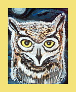 Cathy Turner - Bright eyed owl