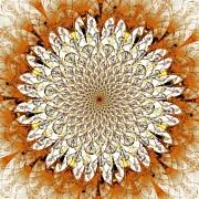 Bright Flower Print by Anastasiya Malakhova
