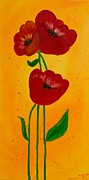 Annette Bingham - Bright Poppies
