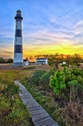 Dan Carmichael - Bright Sunset at Bodie - Outer Banks I