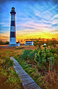 Dan Carmichael - Bright Sunset at Bodie - Outer Banks II