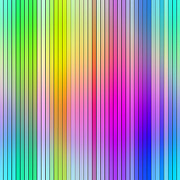 Graduated Background Posters - Bright vibrant multicolored abstract graduated stripes Poster by Stephen Rees
