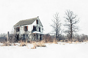 Scary Photo Acrylic Prints - Brighter Days - The Abandoned Farmhouse of a Serial Killer Acrylic Print by Gary Heller
