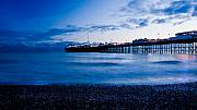 Brighton Beach Framed Prints - Brighton Pier Framed Print by Francesco Emanuele Carucci