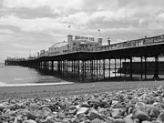 Vicki Spindler - Brighton Pier in Black...