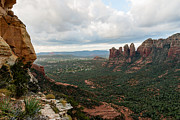  Cathedral Rock Prints - Brins Ridge 04-002 Print by Scott McAllister