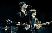 Fab Four  Art - Britains Finest - Beatles Tribute Band by Salvador Gomez