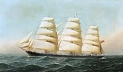 REPRODUCTION - British Clipper Ship - Laomene