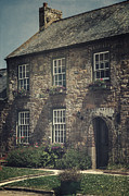 Stonewall Metal Prints - British Cottage Metal Print by Joana Kruse
