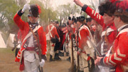 Colonial America Paintings - British Encampment by Colonial America