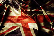 Flag Prints - British flag  Print by Les Cunliffe