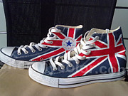 Amy - British flag shoes