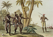 British Guyana Surinam, The Slave Print by G. Bramati