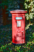 Pillar Box Prints - British Mail Box Print by Paul Ward