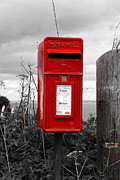 Mail Box Posters - British mailbox Poster by Jan Christoph Mahlmann
