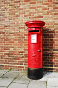 Pillar Box Prints - British postbox Print by Luis Santos