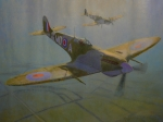 Terry Perham Prints - British Warbirds Print by Terry Perham
