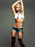 Music  Posters - Britney Spears Poster by Sanely Great