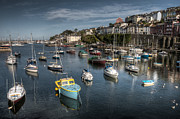 Devonshire Prints - Brixhams Harbour  Print by Rob Hawkins