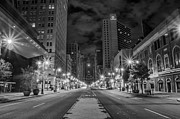 Bill Cannon - Broad Street at Night in...