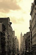 Midtown Framed Prints - Broadway Framed Print by David Gardener