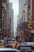 City Streets Photo Originals - Broadway NYC by Mark Holden