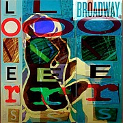 Show Mixed Media - Broadway by Yulonda Rios