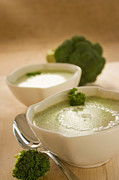 Mythja Photos - Broccoli soup by Mythja  Photography