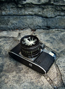 Analog Prints - Broken Camera Lens Print by Jill Battaglia