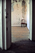 Haunted House Photo Posters - Broken Chair Poster by Jill Battaglia