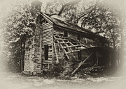 Old Homes Photos - Broken Down  by Wilma  Birdwell