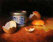 Timothy Jones - Broken Egg and Ceramic