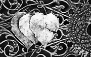 Broken Hearted Prints - Broken Hearted Leaves Print by Lori Frostad