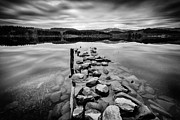 Landscape Photo Posters - Broken Jetty Poster by John Farnan