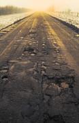 Broken Road Print by Svetlana Sewell