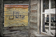 Barkerville Framed Prints - Broken Shingle Framed Print by Ed Hall