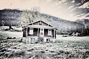 Abandoned Houses Prints - Broken Virginia Print by Emily Stauring
