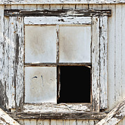 Frame House Photos - Broken Window by Art Block Collections