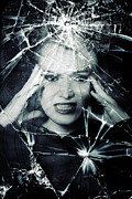 Despair Prints - Broken Window Print by Joana Kruse