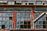 Broken Windows Print by Paul Ward