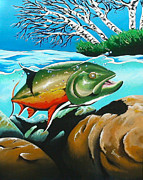 Gamefish Originals - Brook Trout by Greg  Lowman