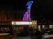 Coolidge Prints - Brookline Coolidge Corner Theater Print by Juergen Roth